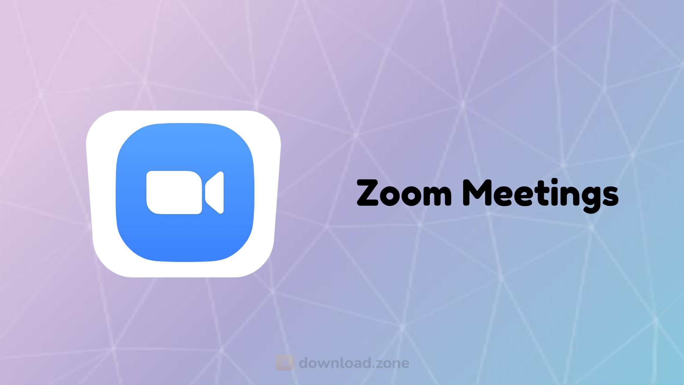 Download Zoom Cloud Meetings App For Pc Free To Enjoy Webinars
